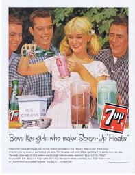 Vintage Promo Ad For 7-Up
