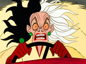Walt Disney Screencaps - Cruella De Vil