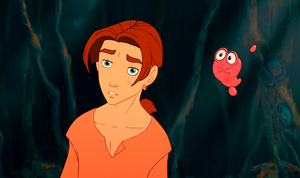 Walt Disney Screencaps – Jim Hawkins & Morf