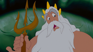 Walt Дисней Screencaps – King Triton