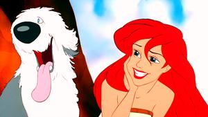Walt Disney Screencaps – Max & Princess Ariel