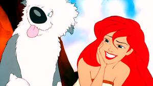 Walt Дисней Screencaps – Max & Princess Ariel