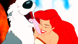 Walt 迪士尼 Screencaps – Max & Princess Ariel