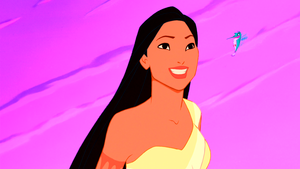 Walt 迪士尼 Screencaps - Pocahontas & Flit
