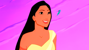Walt ディズニー Screencaps - Pocahontas & Flit