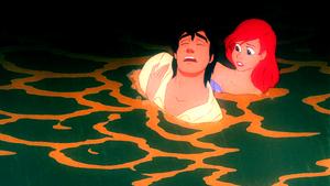 Walt Disney Screencaps – Prince Eric & Princess Ariel