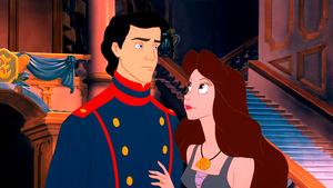 Walt Disney Screencaps – Prince Eric & Vanessa