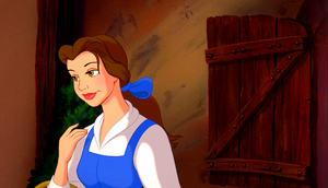 Walt ডিজনি Screencaps - Princess Belle