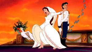 Walt Disney Screencaps – Scuttle, Vanessa, Prince Eric & The Blue Birds