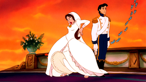 Walt Disney Screencaps – Scuttle, Vanessa, Prince Eric & The Blue Birds