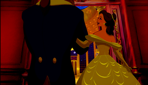 Walt Disney Screencaps - The Beast & Princess Belle