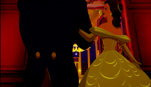 Walt disney Screencaps - The Beast & Princess Belle