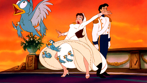 Walt Disney Screencaps – The Blue Birds, Vanessa & Prince Eric