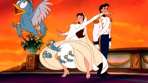 Walt ディズニー Screencaps – The Blue Birds, Vanessa & Prince Eric