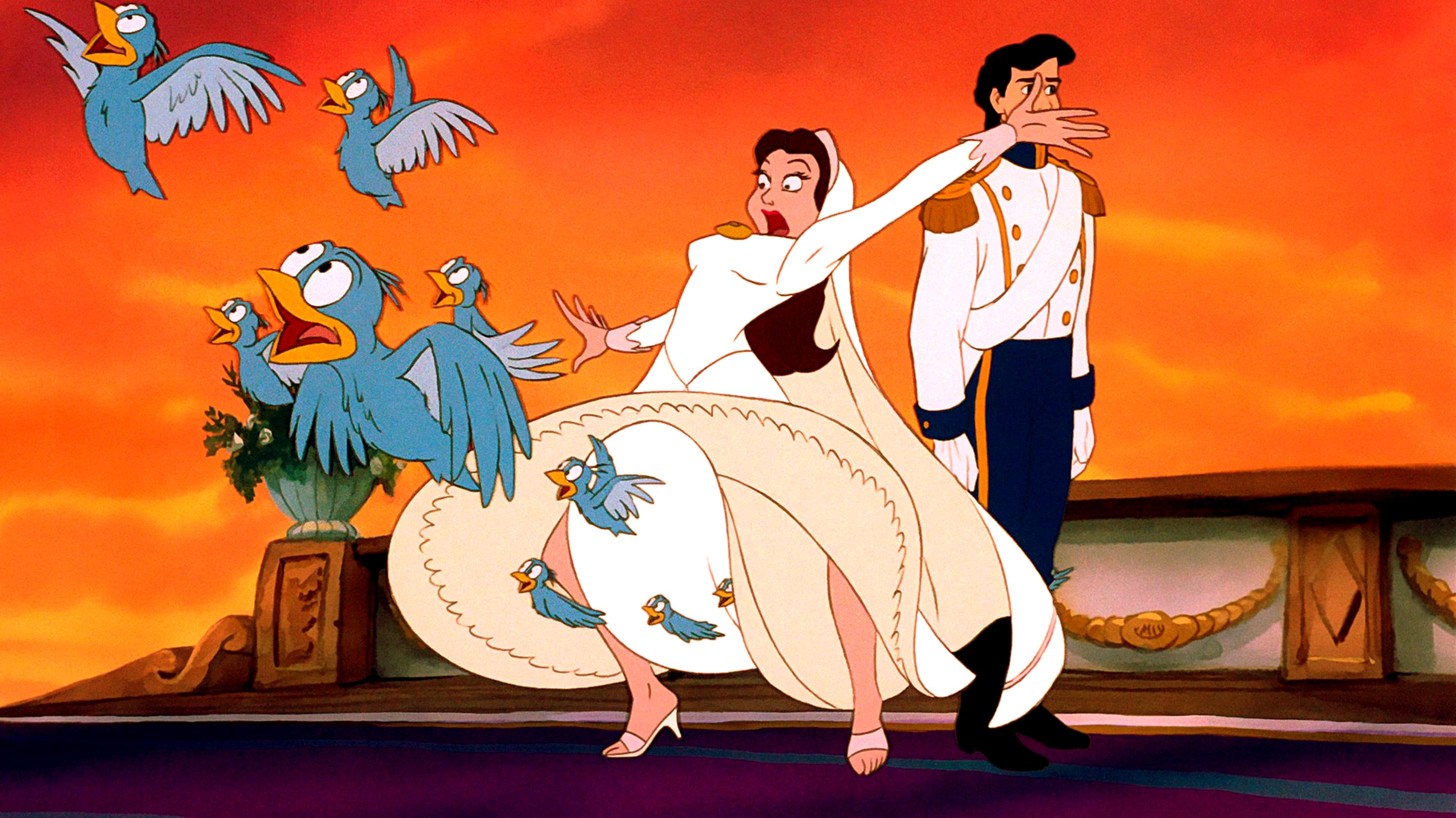 Walt Disney Screencaps – The Blue Birds, Vanessa & Prince Eric