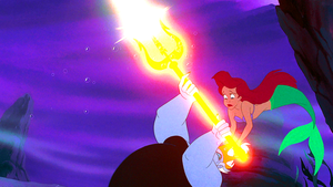 Walt Дисней Screencaps – Ursula & Princess Ariel