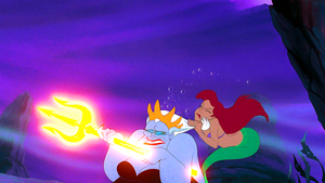 Walt ディズニー Screencaps – Ursula & Princess Ariel