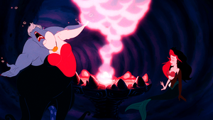 Walt Disney Screencaps – Ursula & Princess Ariel