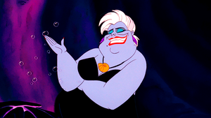 Walt Дисней Screencaps – Ursula