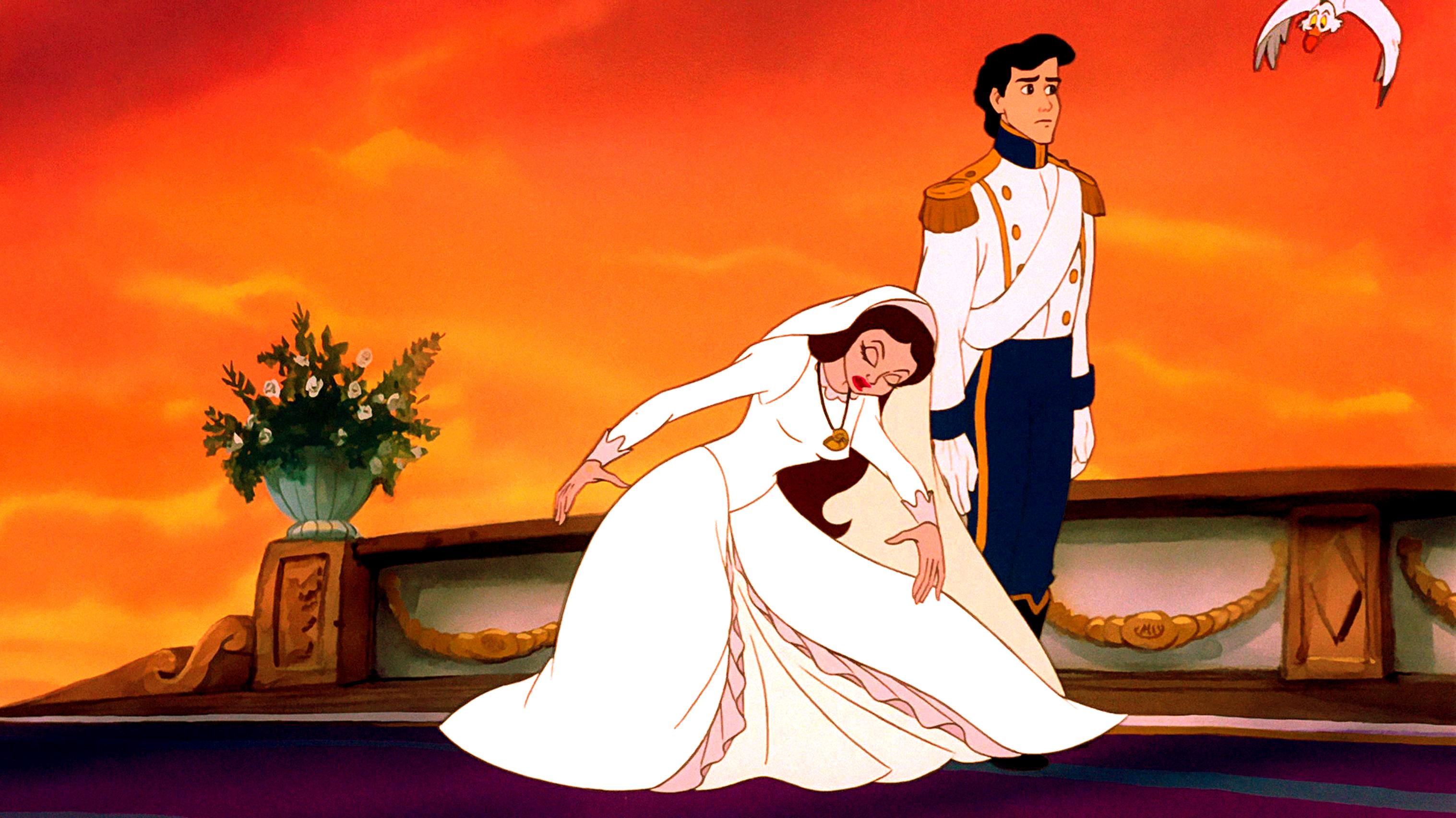 Walt Disney Screencaps – Vanessa, Prince Eric & Scuttle