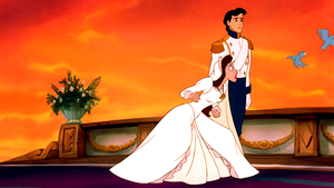 Walt Disney Screencaps – Vanessa, Prince Eric & The Blue Birds