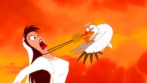 Walt Disney Screencaps – Vanessa & Scuttle