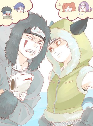 Wasabi and kiba