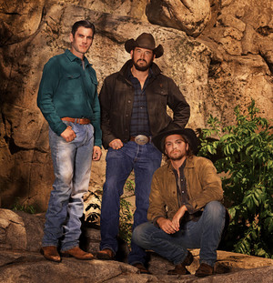 Wes Bentley, Cole Hauser and Luke Grimes - Cowboys and Indians Photoshoot - 2019