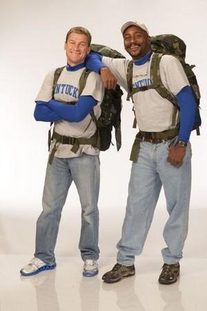 "William ""Bopper"" Minton and Mark Jackson (The Amazing Race 20)"