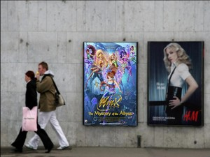Winx Club the Mystery of the Abyss on the Billboard