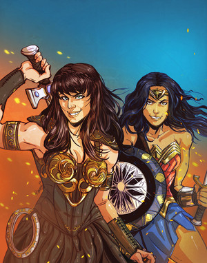 Xena Warrior Princess & Wonder Woman
