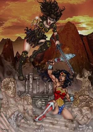 Wonder Woman vs. Xena Warrior Princess