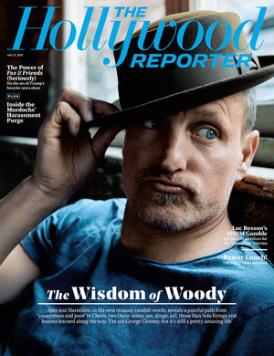 Woody Harrelson - The Hollywood Reporter Cover - 2017