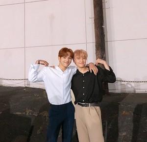 Woojin and I.N