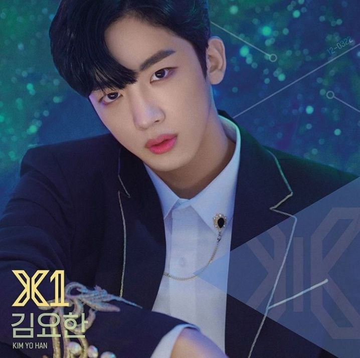 X1 Kim Yohan official photo