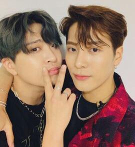 Youngjae and Jackson
