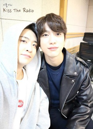 Youngjae and jinyoung