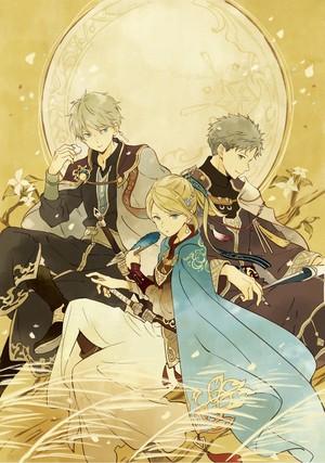 Zen, Kiki and Mitsuhide