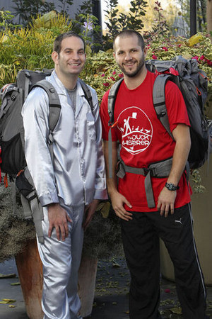 Zev Glassenberg and Justin Kanew (The Amazing Race: Unfinished Business)