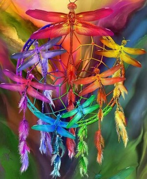 colourful Dreamcatcher🌟 ✨❤️🌸