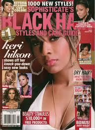 Kerri Jackson On The Cover Of Black Hair