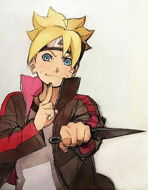 Boruto drawing