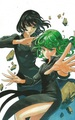 fubuki and tatsumaki - one-punch-man wallpaper