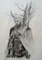 geralt of rivia - the-witcher fan art