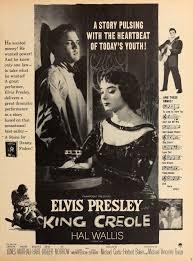 Vintage Promo Ad 1958 Film, King Creole