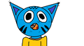 my gumball charecter...its the first one i made on the computer so i am posting it, what do u think? - random fan art