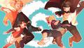 naruto and sasuke - anime fan art