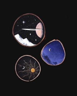 solar system ☼ ☽