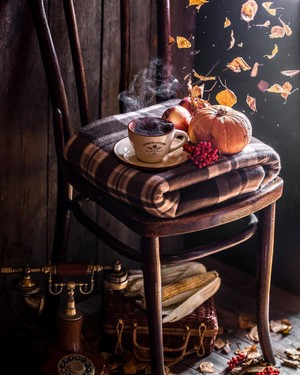 🍂Autumn cozy🍂...🍵