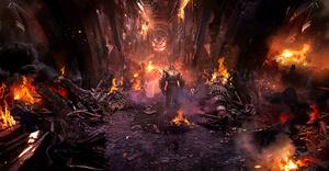 """""""Avengers Infinity War"""" concept art"""